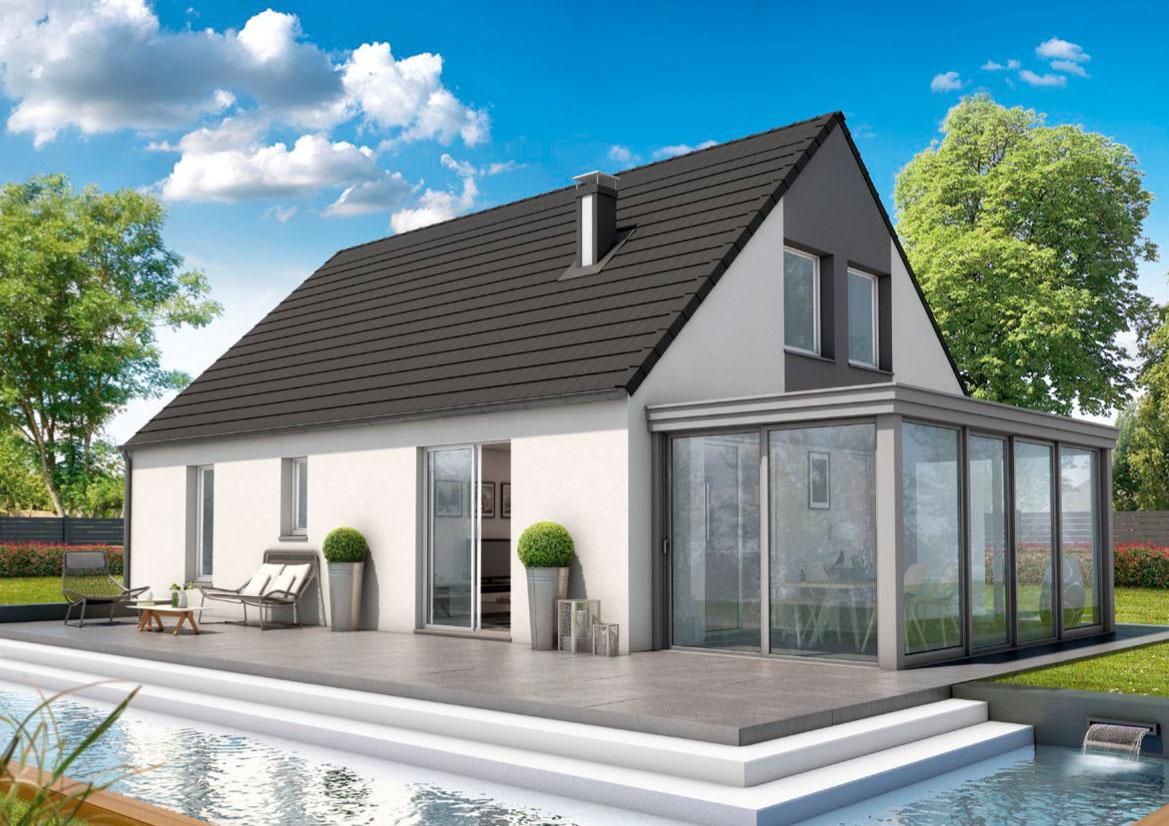 Maison Moderne sur Auxerre - Compagnons Constructeurs