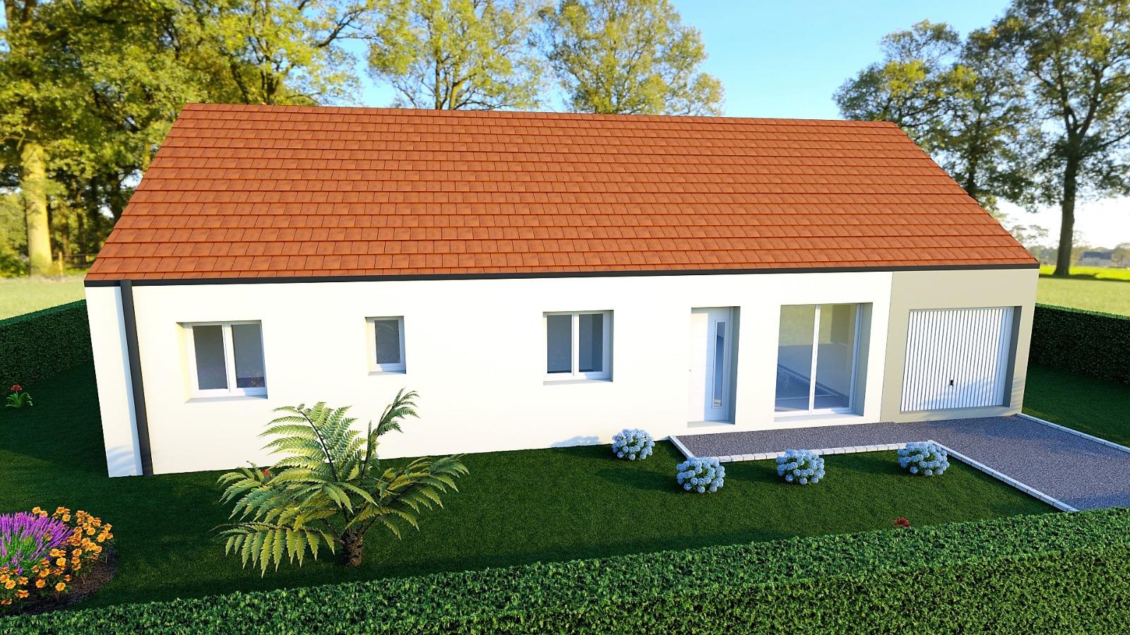 Maison neuve 110m2 habitable - Compagnons Constructeurs