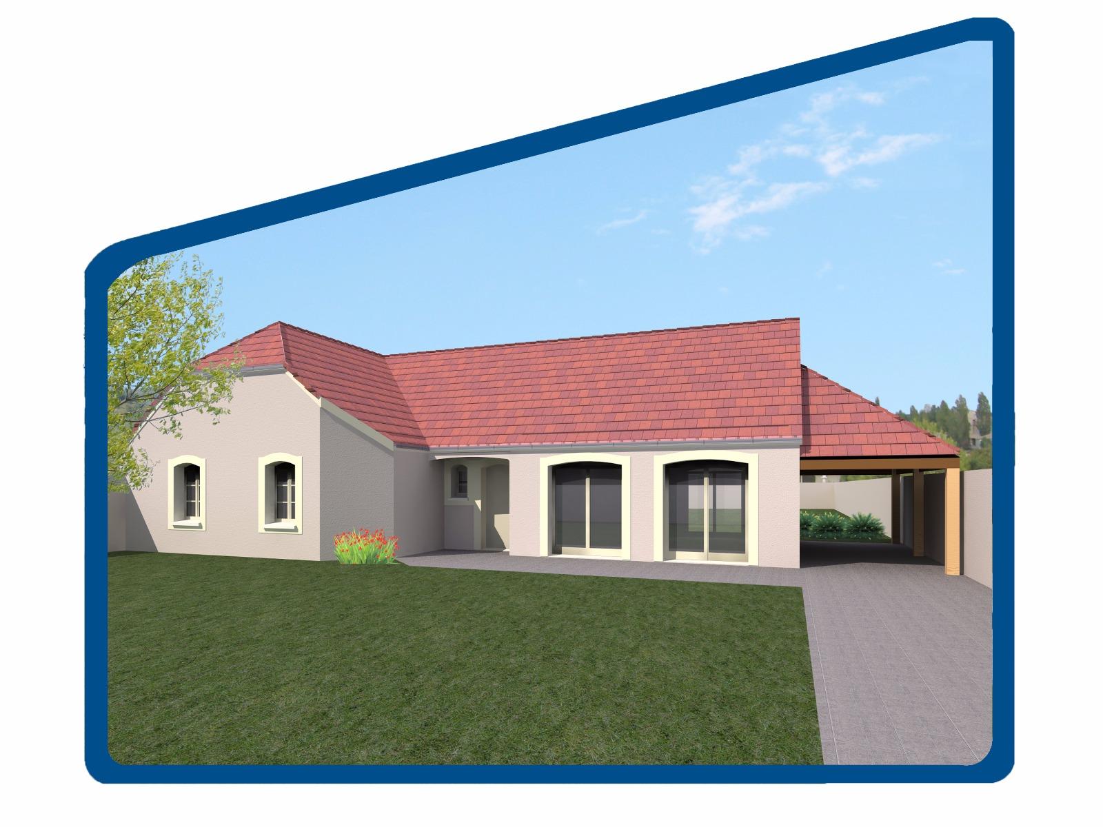 Terraiin maison MALAIN  - Compagnons Constructeurs