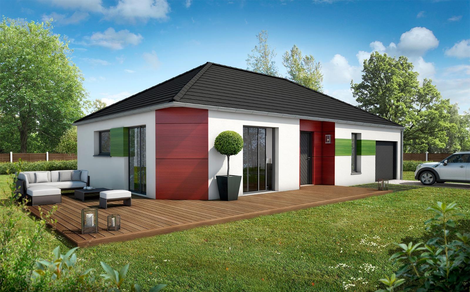 Maison 80 m2 - Villethierry  - Compagnons Constructeurs