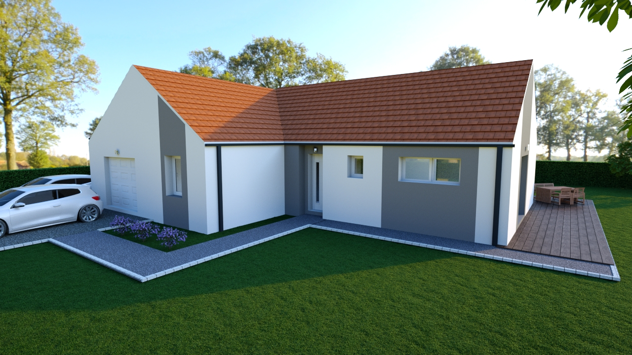 Maisons Magny St Medard  - Compagnons Constructeurs