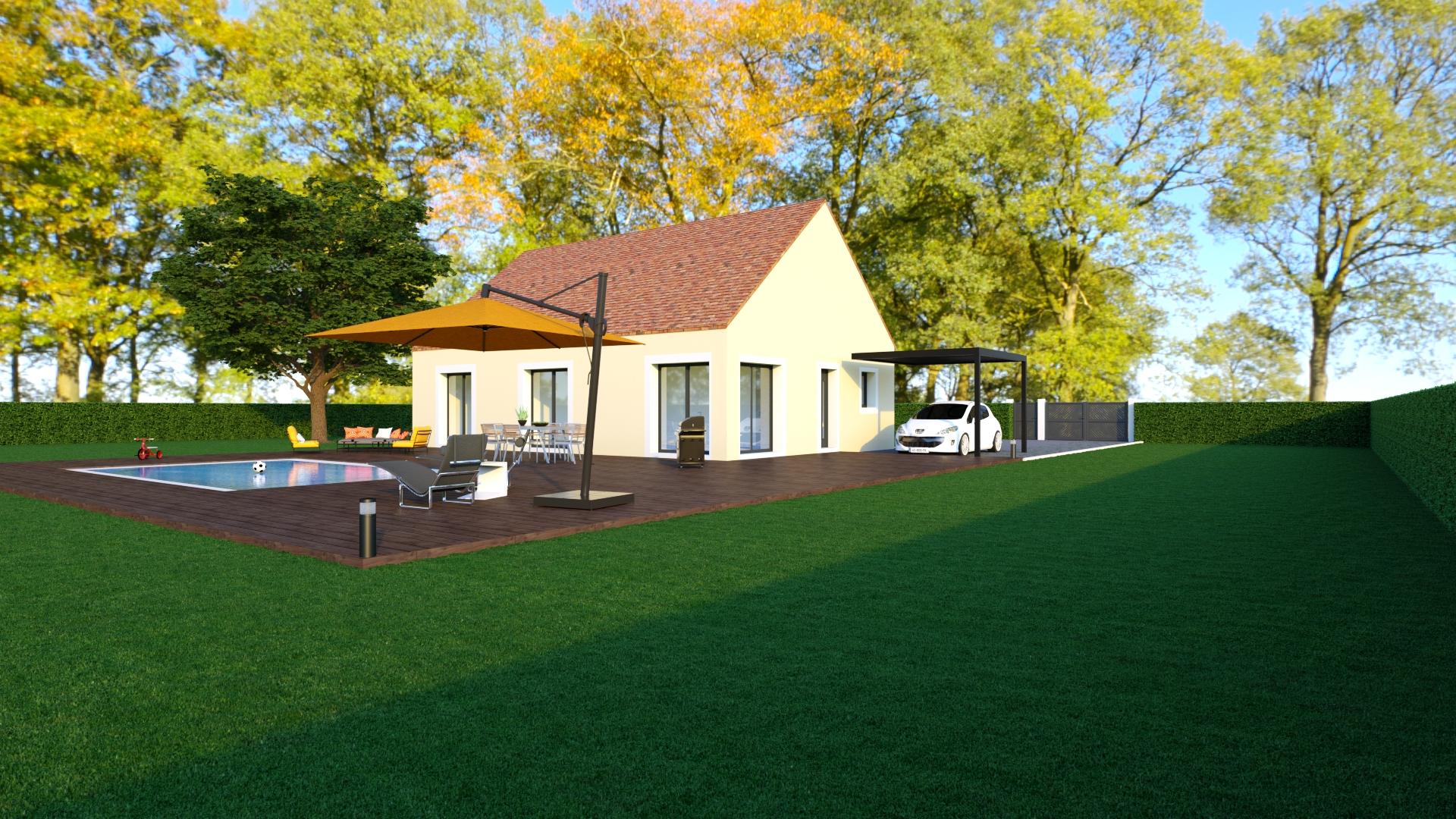 Maison de 90 m2 à Charbuy - Compagnons Constructeurs