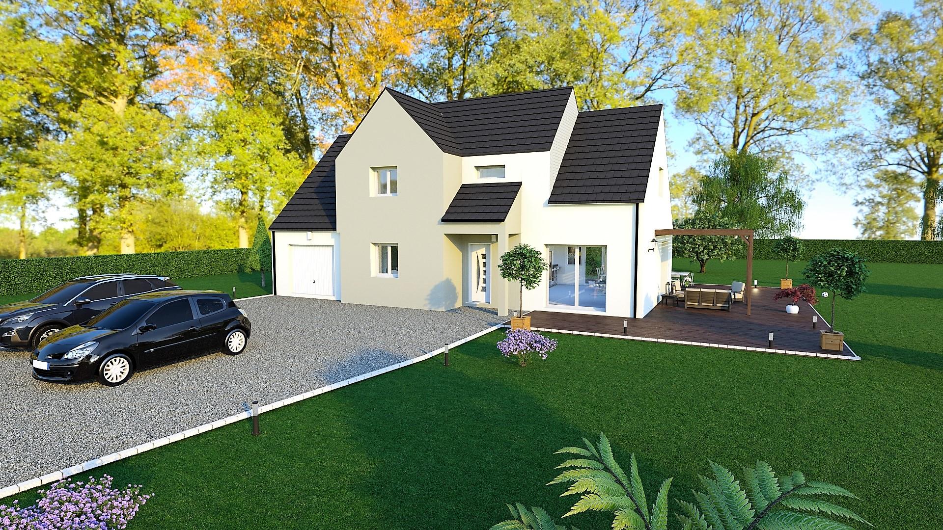 Maison Sur-mesure à Girolles avec terrain d'environ 1 300 m2 - Compagnons Constructeurs