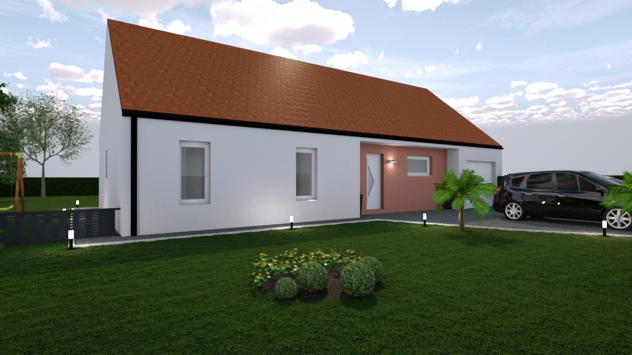 Maison sur POUILLENAY - Compagnons Constructeurs